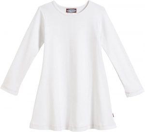 City Threads Girls' 100% Cotton Long Sleeve Dress