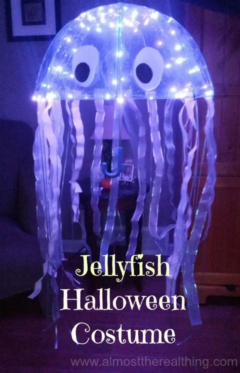 DIY Jellyfish Costume