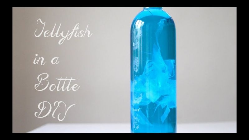 DIY Jellyfish in a Bottle Craft