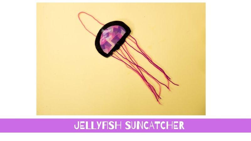 Jellyfish Suncatcher Craft