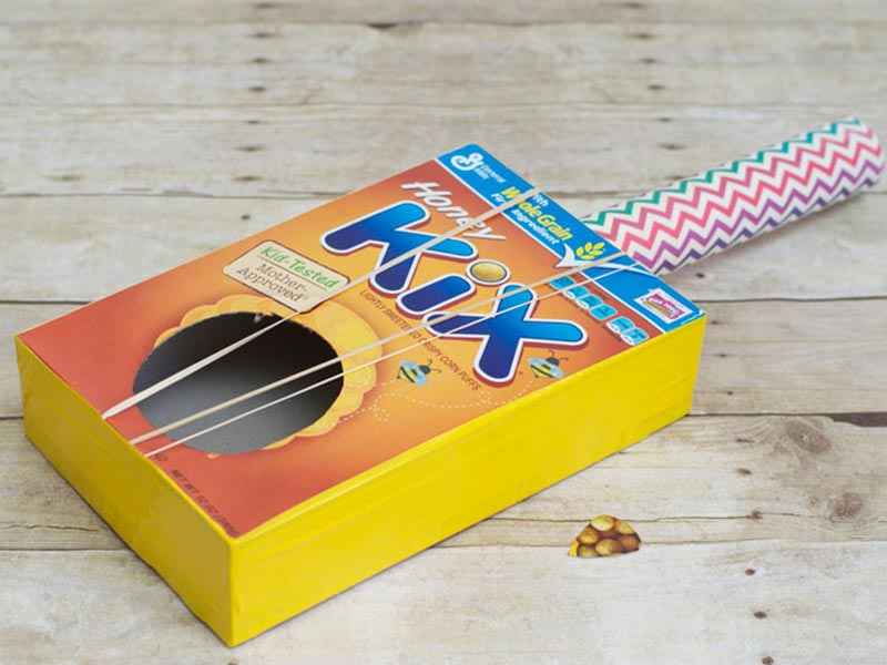 Cereal Box Guitar
