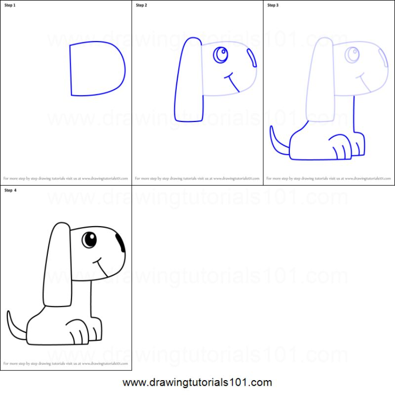 """""""D Is For Dog"""" Drawing"""