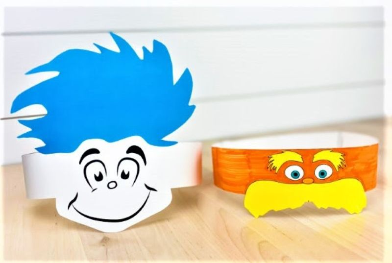 Dr Seuss Hat Crafts