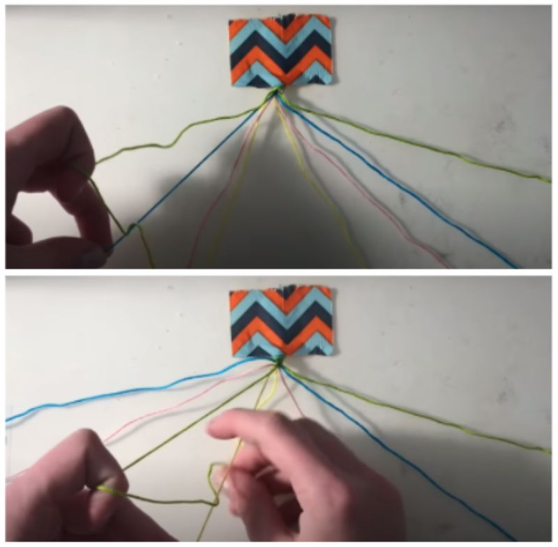 Make Forward Knots