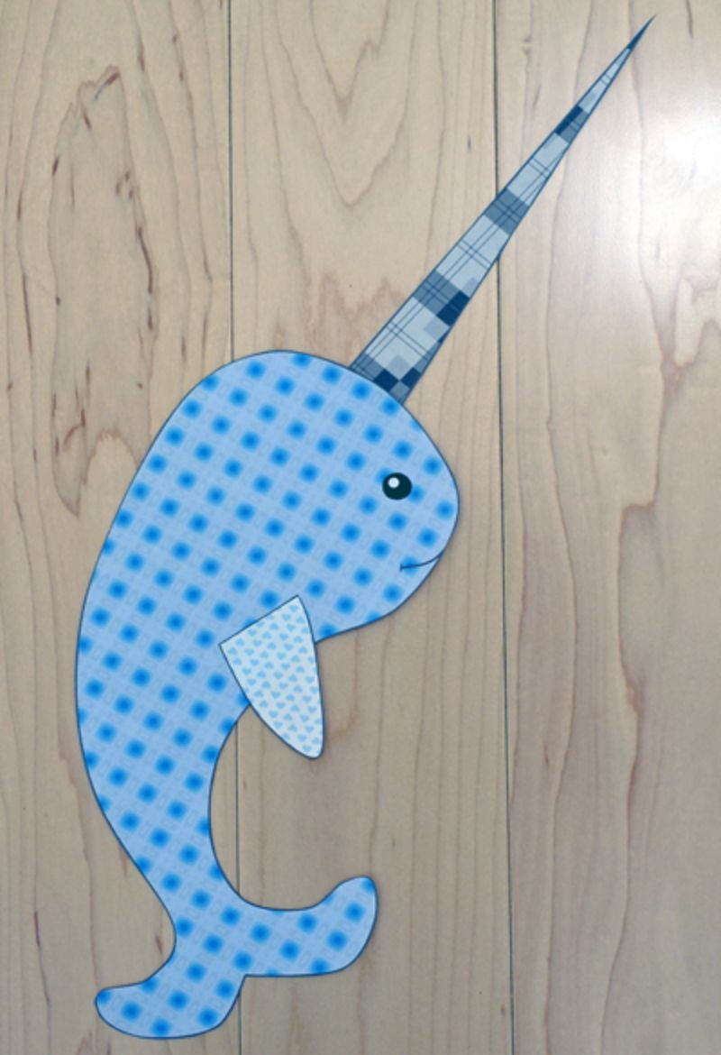 Paper Narwhal Craft