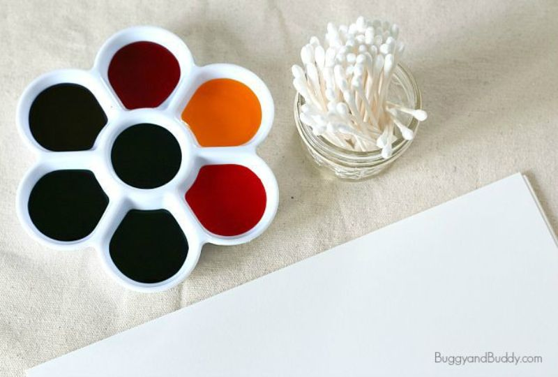 Q-tip Painting Activity