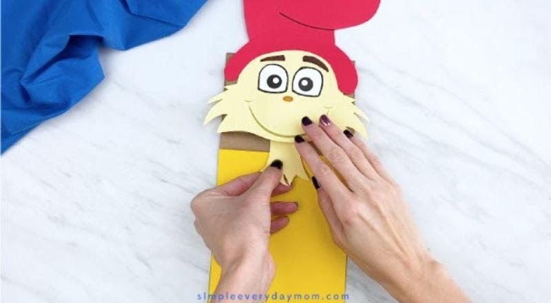 Sam I Am Paper Bag Puppet Craft
