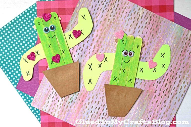 Popsicle Stick Cactus