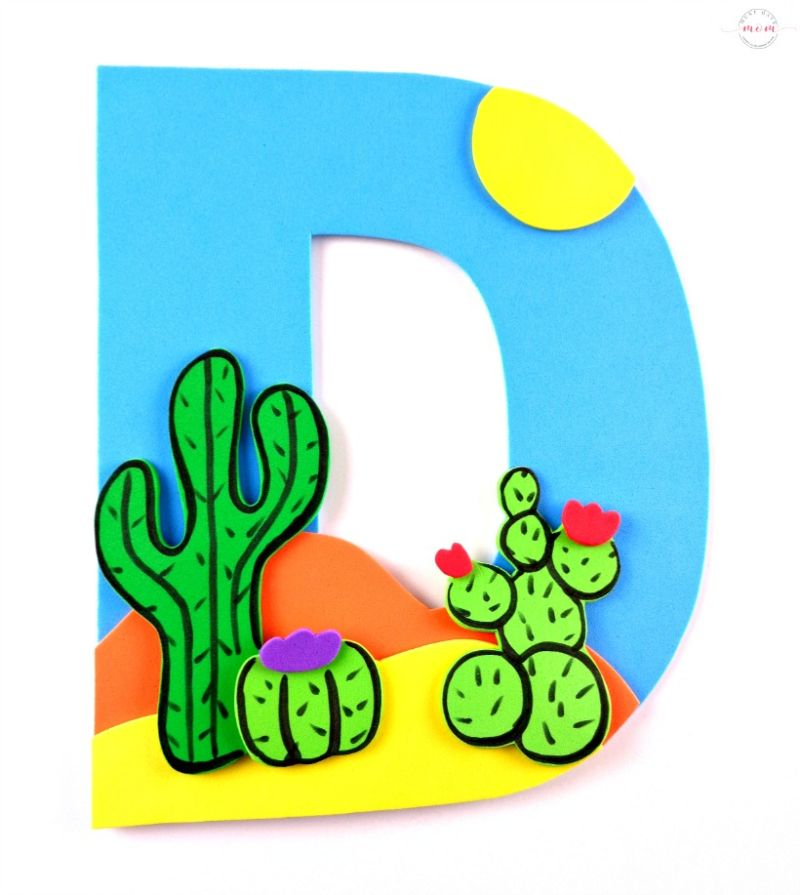 """""""D is for Desert"""" Craft"""