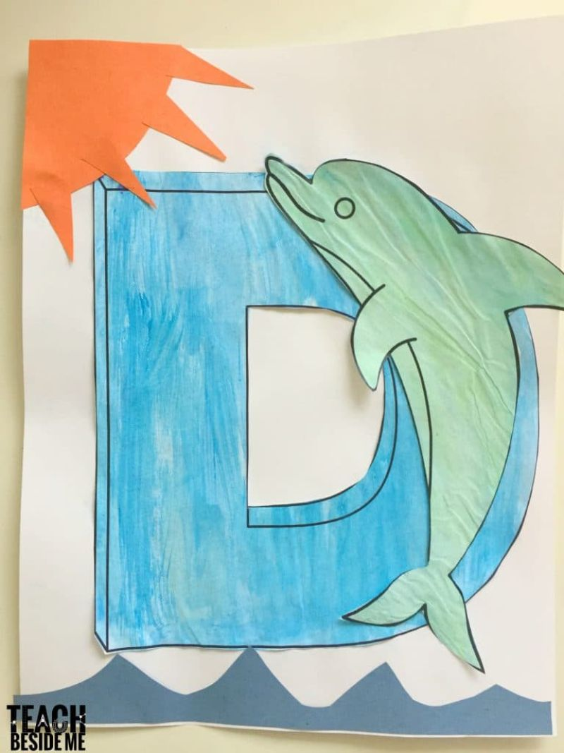 """""""D is for Dolphin"""" Craft"""