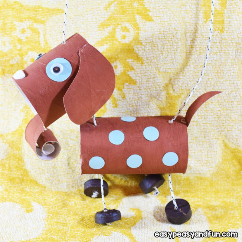 Dog Marionette Craft