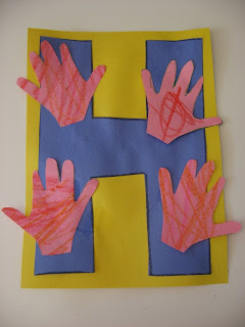 """""""H is for Hands"""" Craft"""