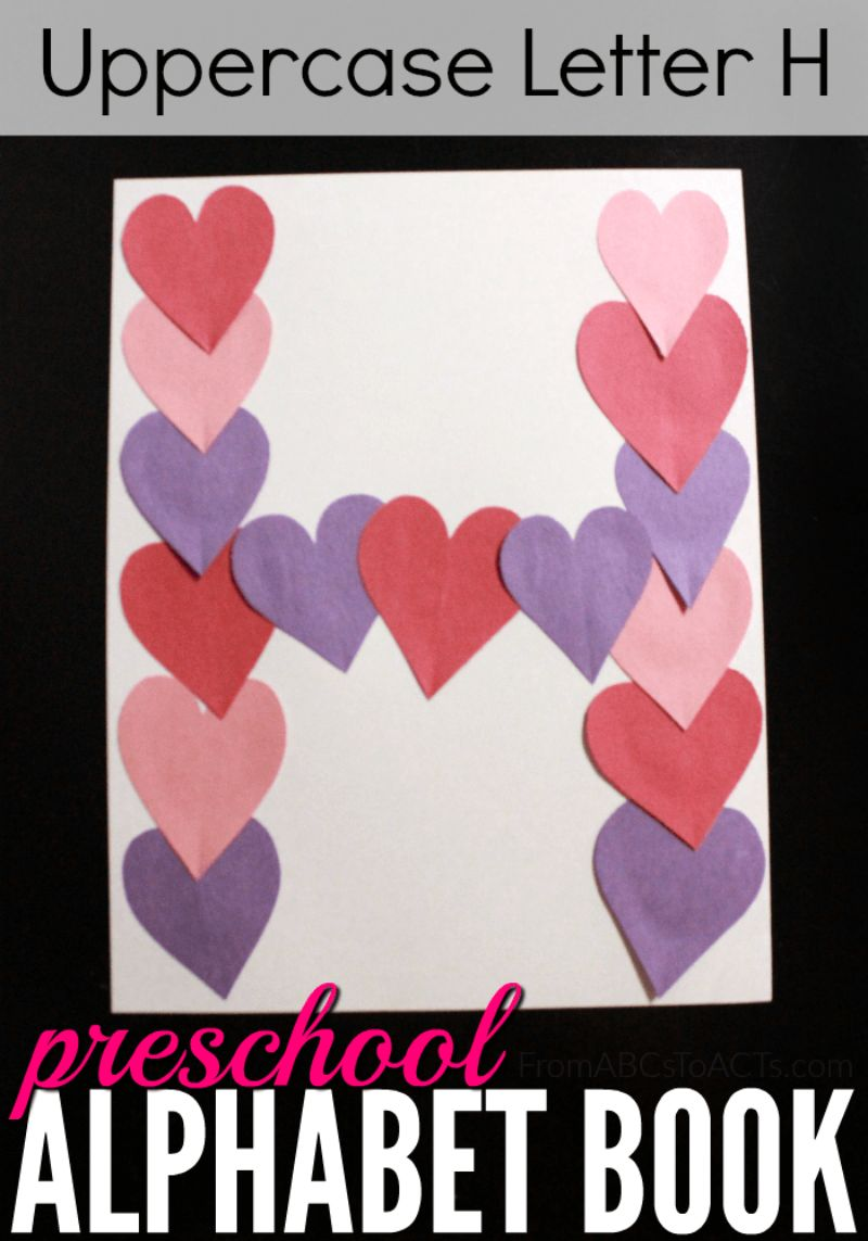 """""""H is for Heart"""" Craft"""