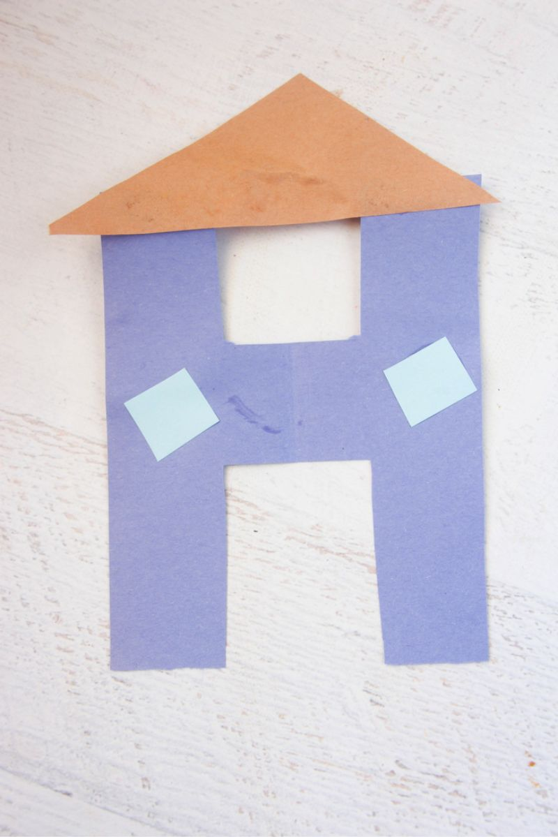 """""""H is for House"""" Craft"""