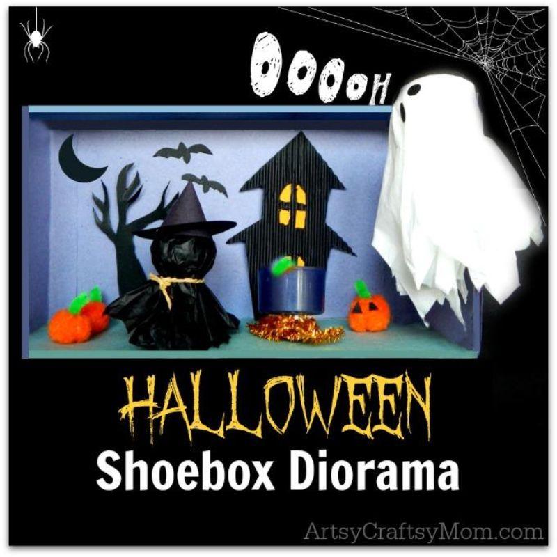 Halloween Diorama Craft