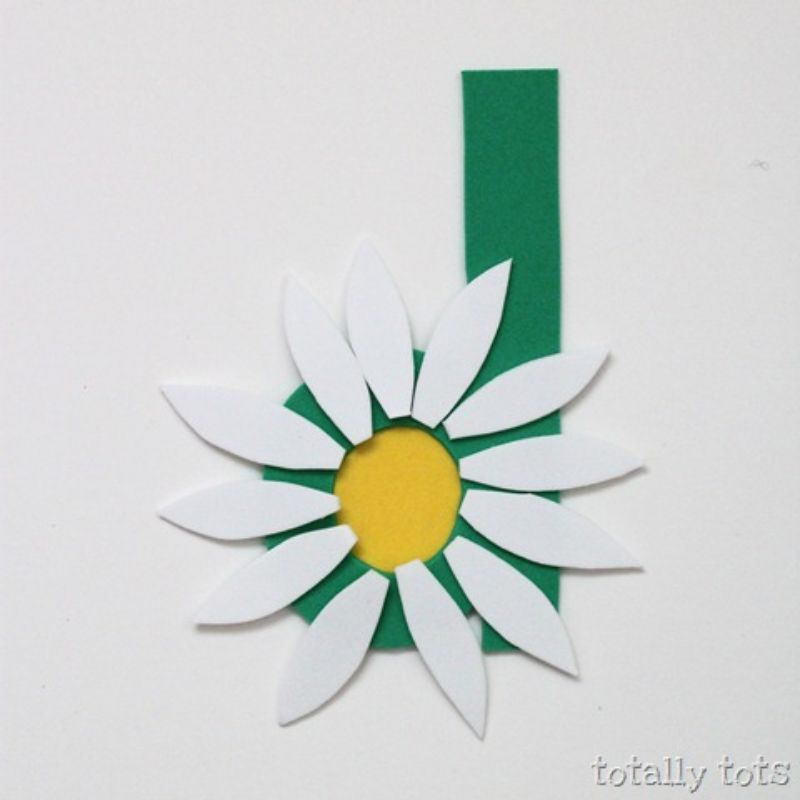 """""""d is for Daisy"""" craft"""