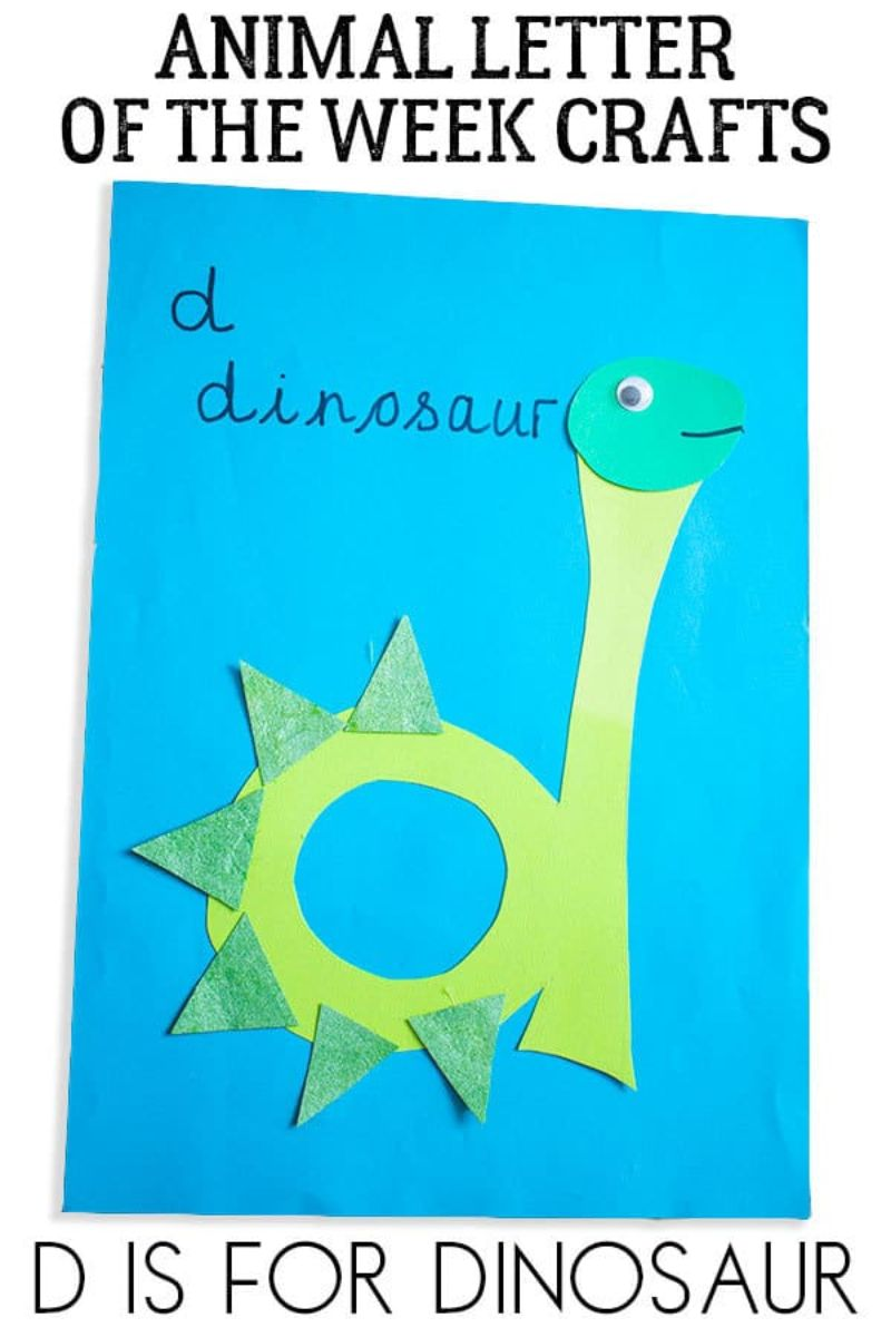 """""""d is for Dinosaur"""" Craft"""