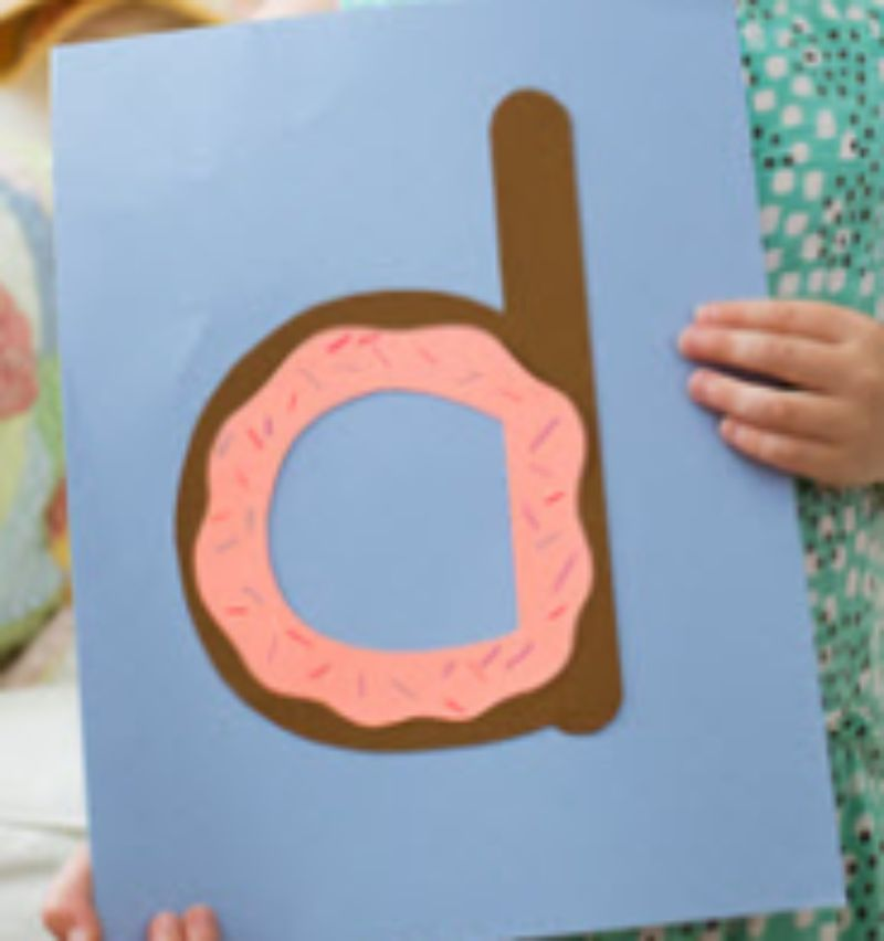 """""""d is for Donut"""" Craft"""