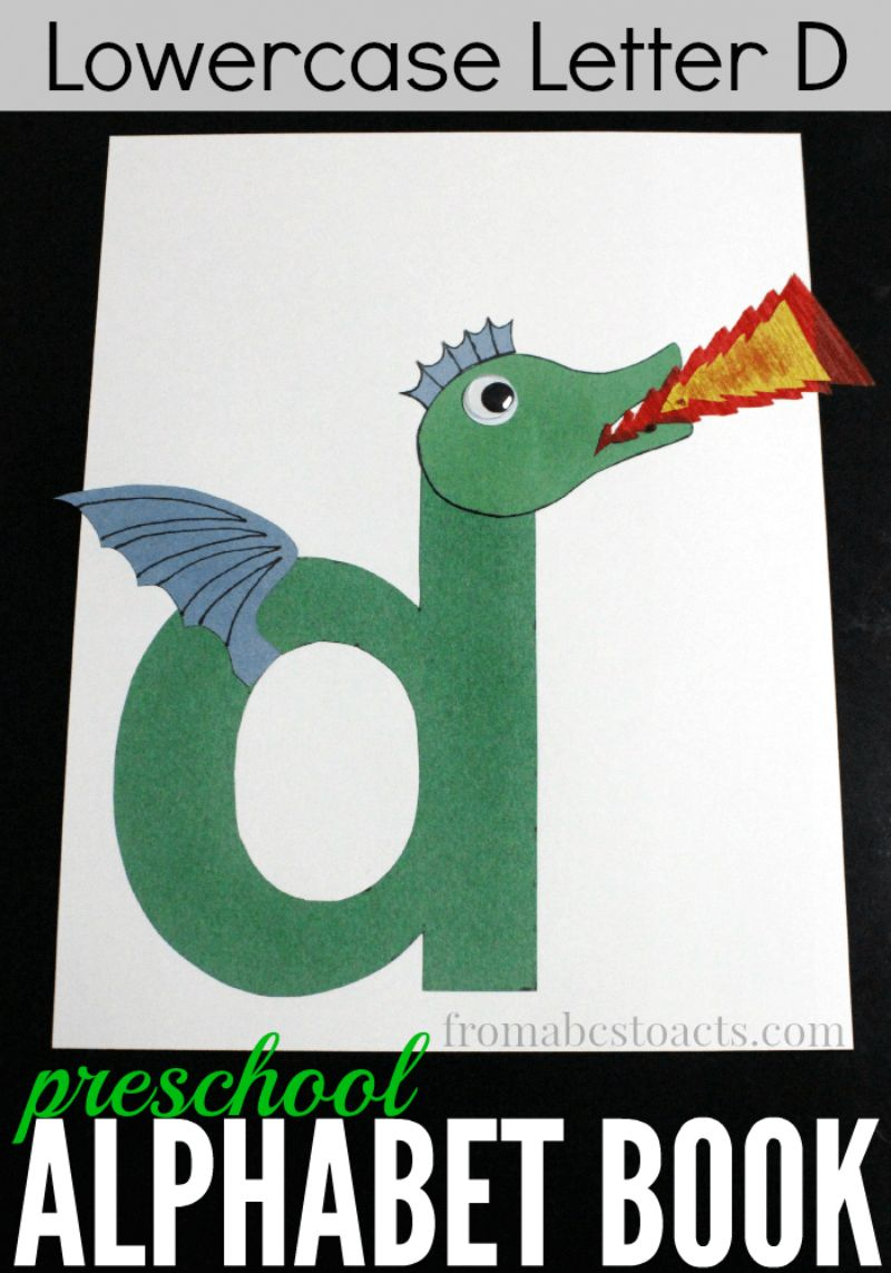 """""""d is for Dragon"""" Craft"""